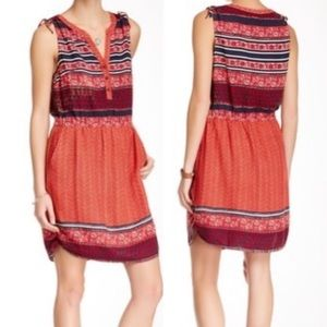 Lucky Brand Tie Dress
